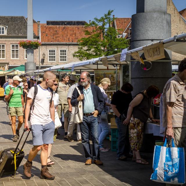 """Dordrecht book market"" stock image"
