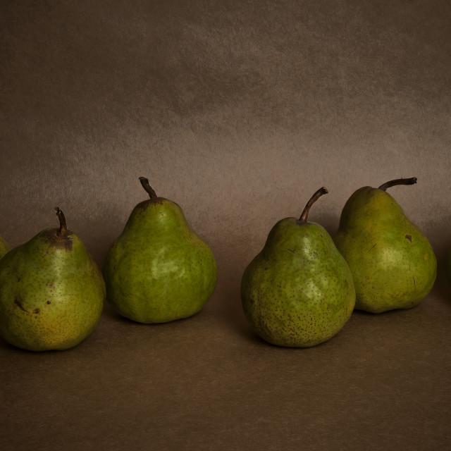 """Six Pears"" stock image"