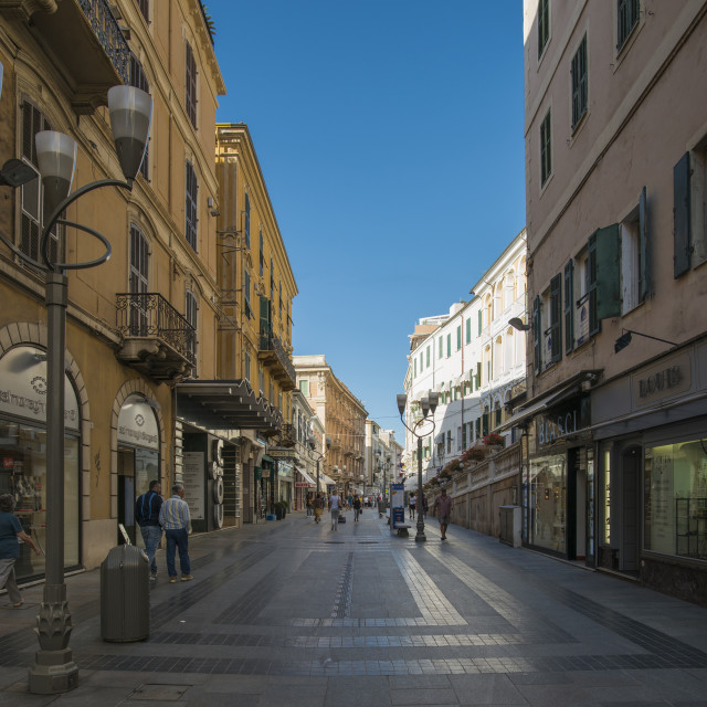 """Sanremo."" stock image"