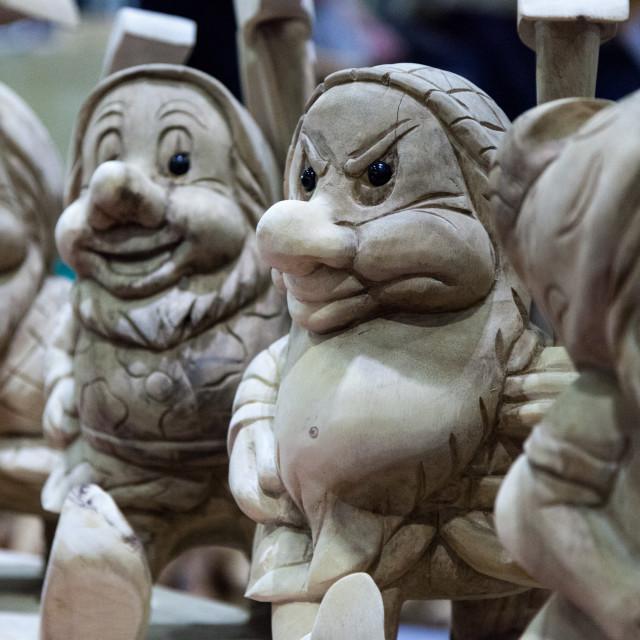 """Trolling Dwarves"" stock image"