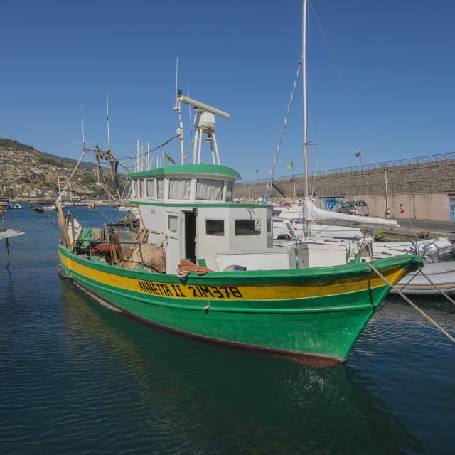 """Fishing boat."" stock image"