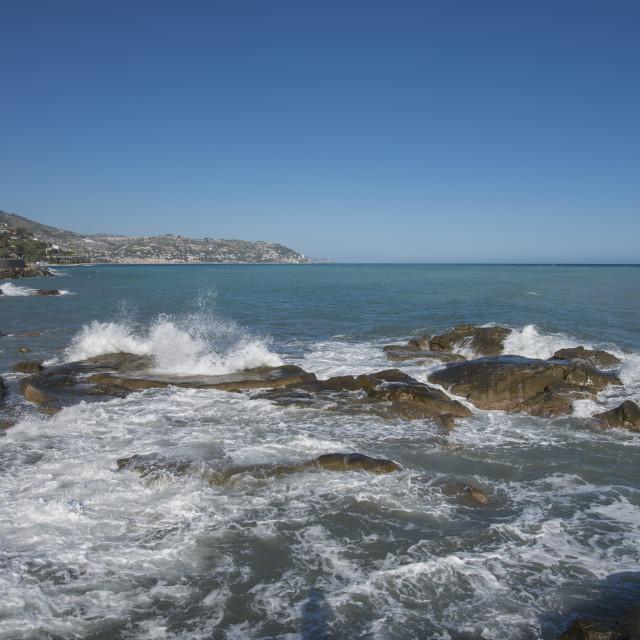 """Waves."" stock image"