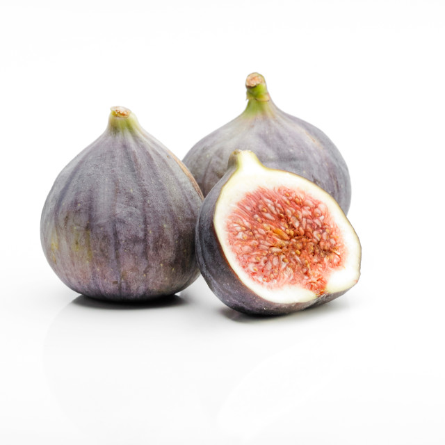"""""""Two and a half Figs"""" stock image"""