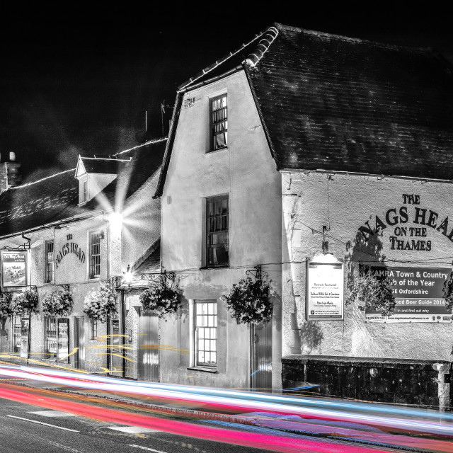 """The Punchbowl - Abingdon"" stock image"