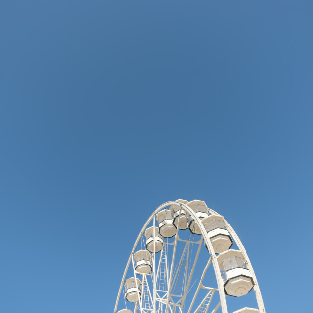 """High In The Blue Sky 1"" stock image"