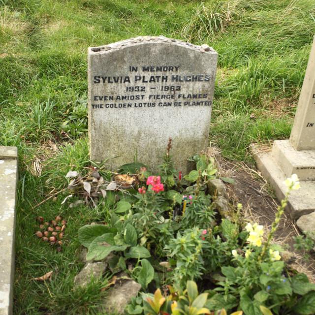 """Sylvia Plath"" stock image"