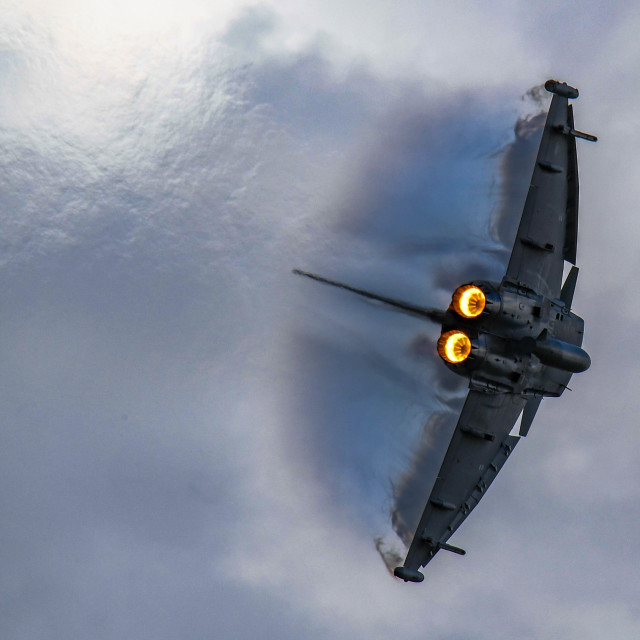 """Dynamic Typhoon"" stock image"