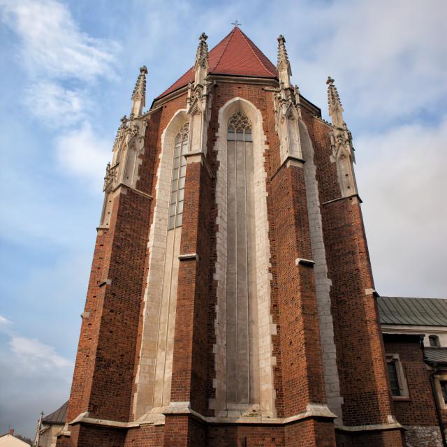 """Church of St. Catherine in Krakow"" stock image"