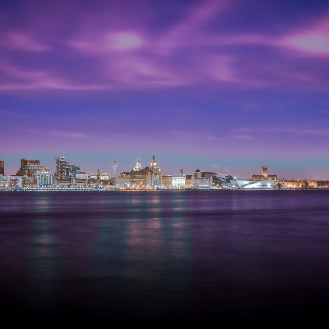 """Liverpool Iconic Cityscape"" stock image"