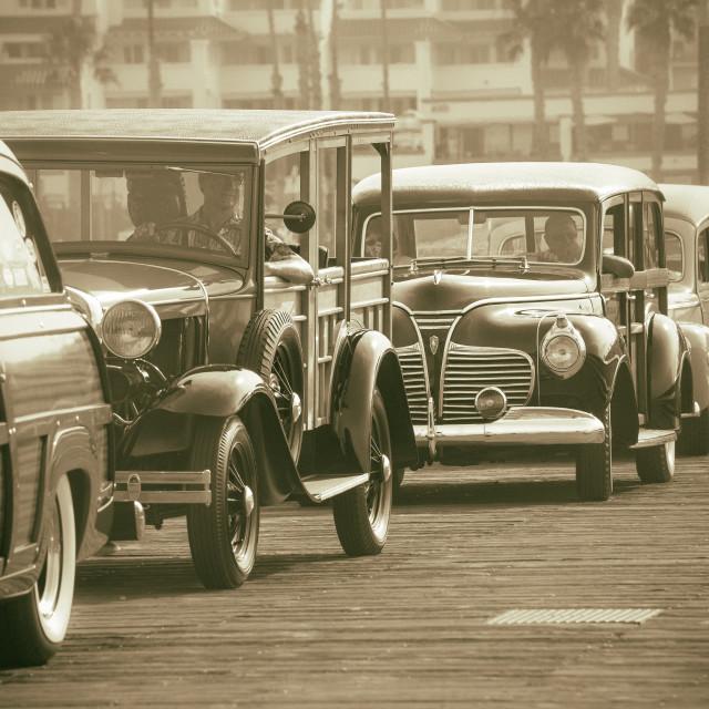 """Rush hour in California"" stock image"
