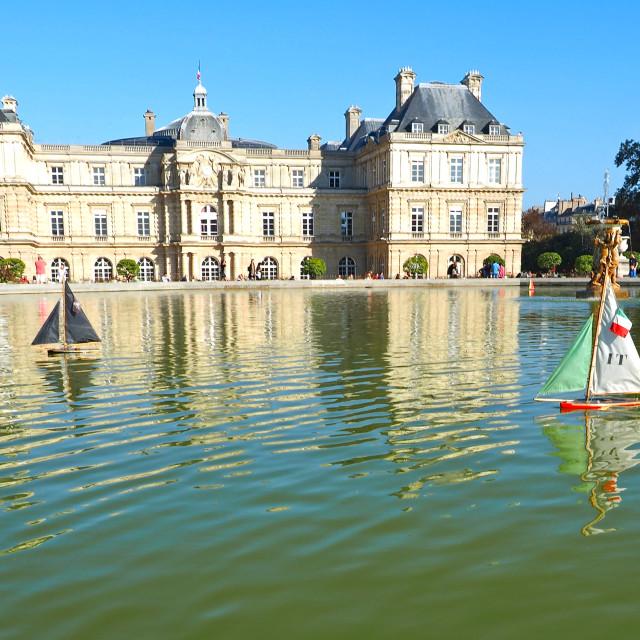 """Jardin du Luxembourg"" stock image"