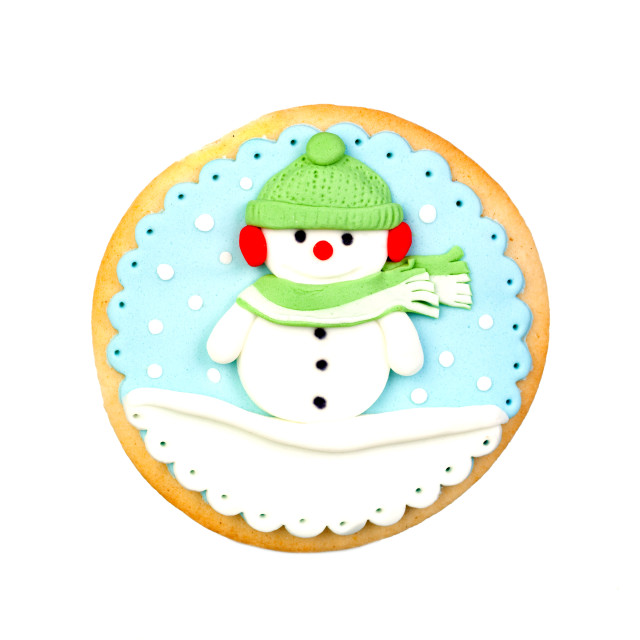 """""""Funny cookie for Christmas"""" stock image"""