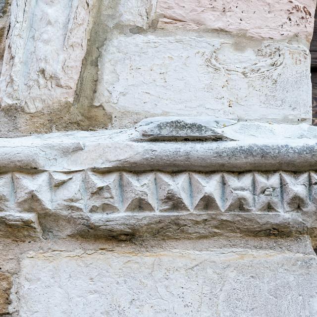 """Church of Monteguiduccio - Detail"" stock image"