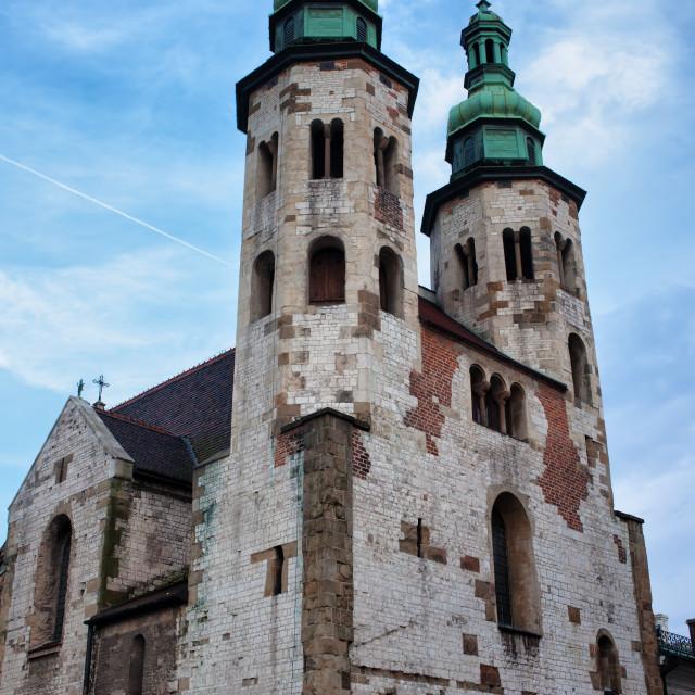 """""""Church of St. Andrew in Krakow"""" stock image"""