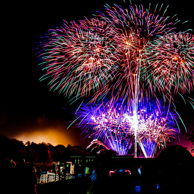 """Wicksteed Fireworks 1"" stock image"