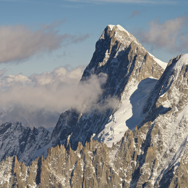 """Mont Blanc du Tacul"" stock image"