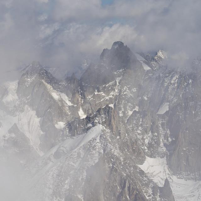 """Mont Blanc Glacier"" stock image"