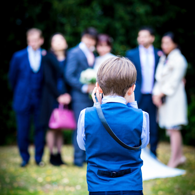 """Child photographer"" stock image"
