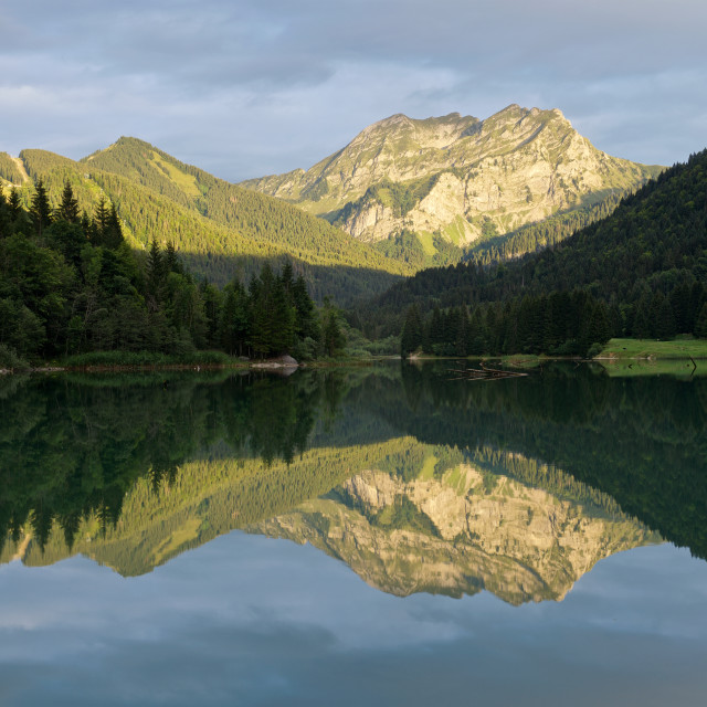 """Lac de Vallon"" stock image"