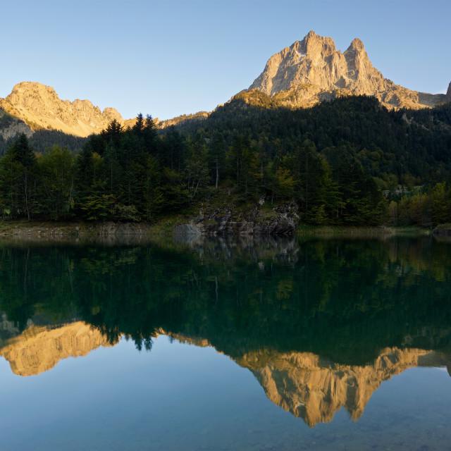 """Lac de Bious-Artigues"" stock image"