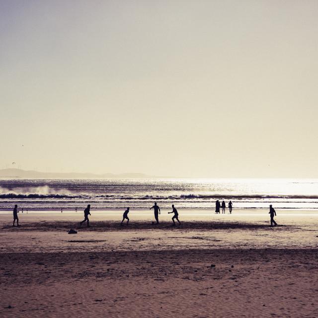 """Marokko Beach"" stock image"