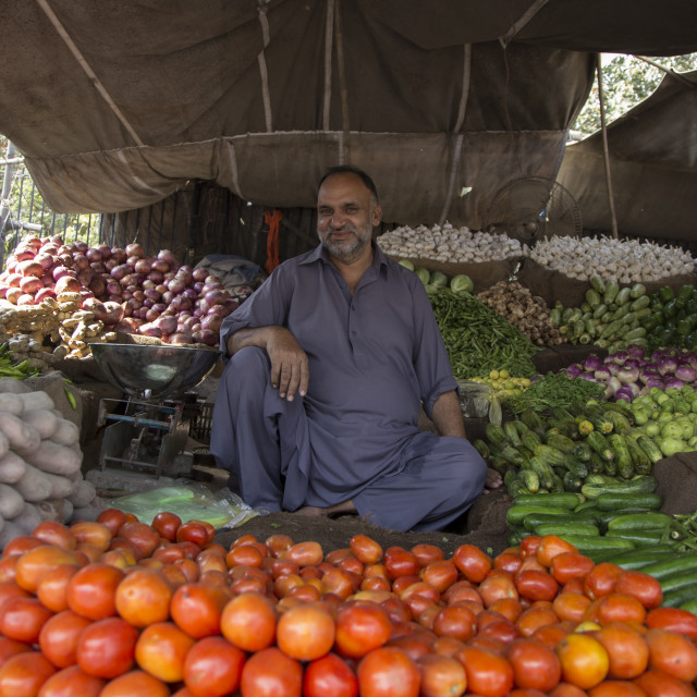 """Vegetable Market"" stock image"