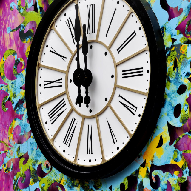 """The clock"" stock image"