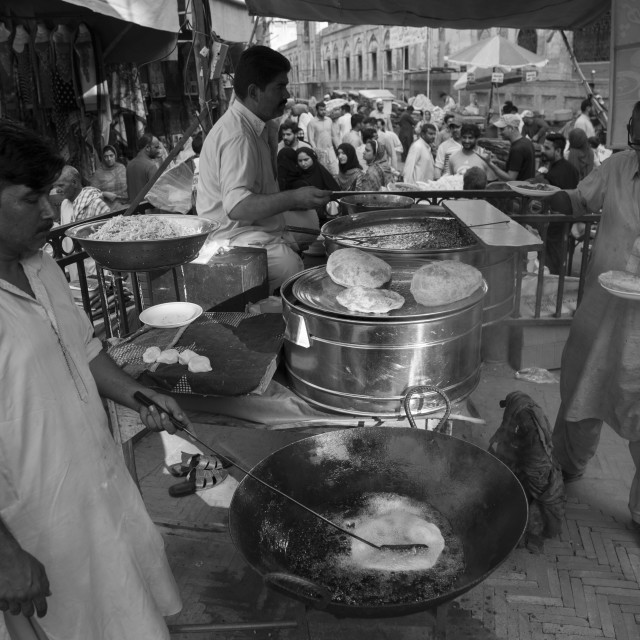 """Food Street Lahore"" stock image"