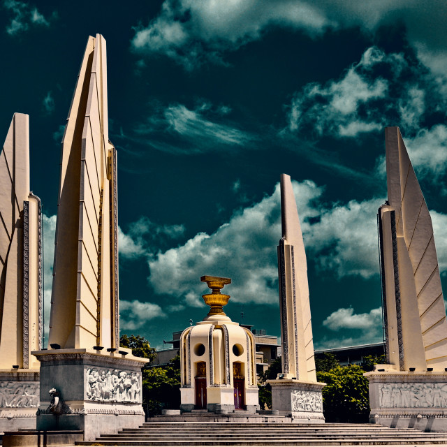 """Democracy Monument"" stock image"