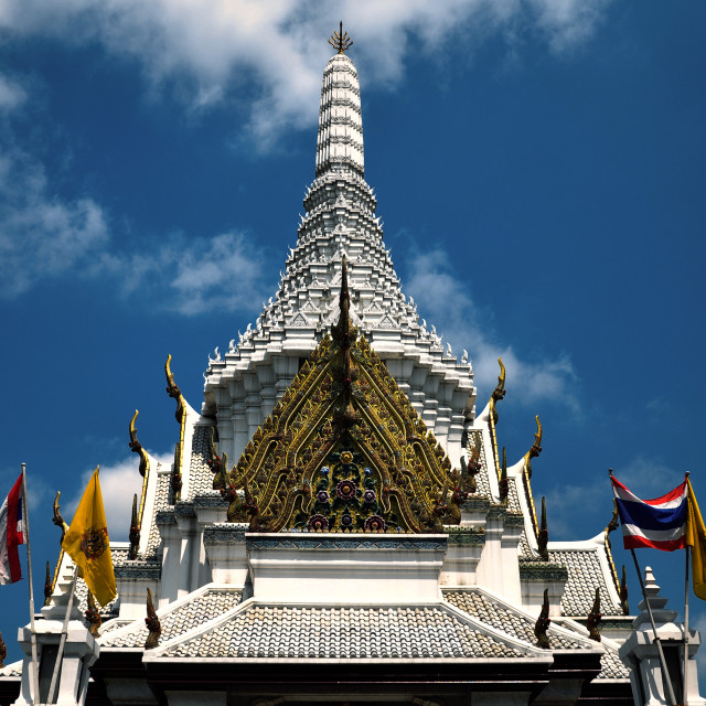 """Bangkok City Pillar Shrine"" stock image"