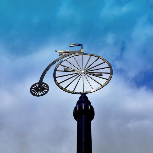"""Bike symbol"" stock image"