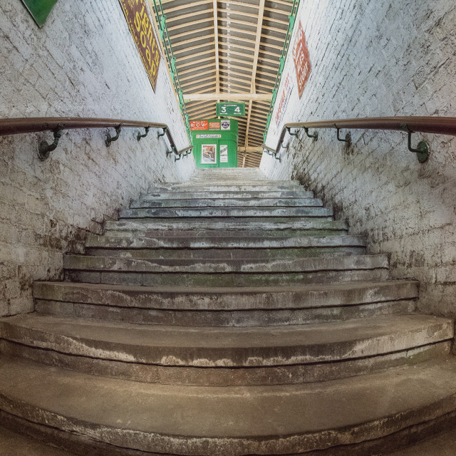 """""""Old Station Steps"""" stock image"""