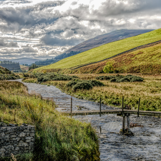 """""""Scottish Landscape"""" stock image"""