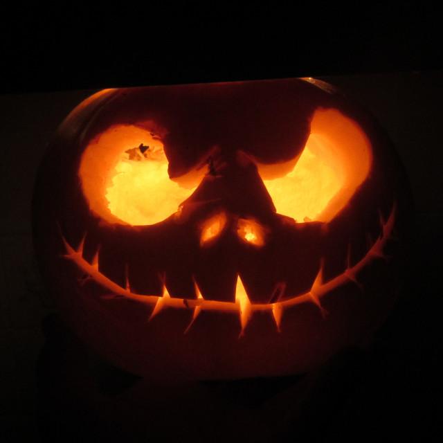 """""""Halloween pumpkin"""" stock image"""