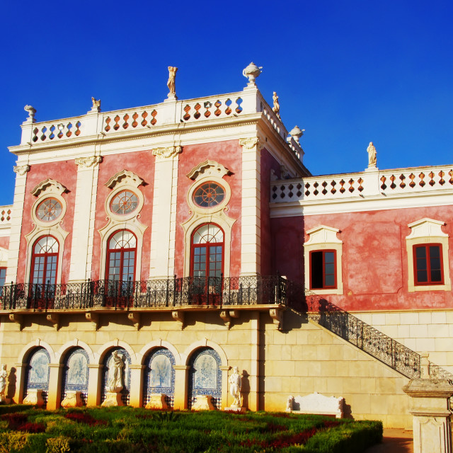 """Palace of Estoi, Algarve region. Portugal"" stock image"