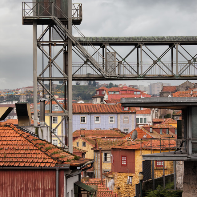 """Old City of Porto Urban Scenery"" stock image"