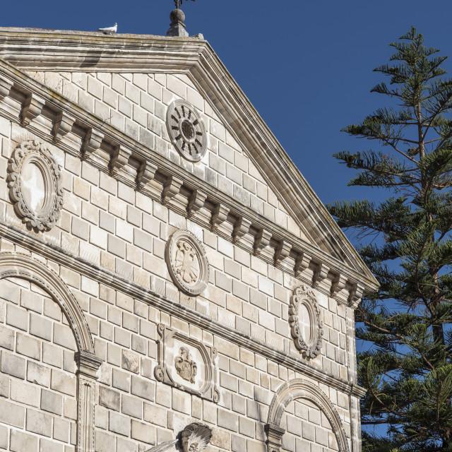 """""""Virgin Mary Faneromeni Church, Zakynthos"""" stock image"""