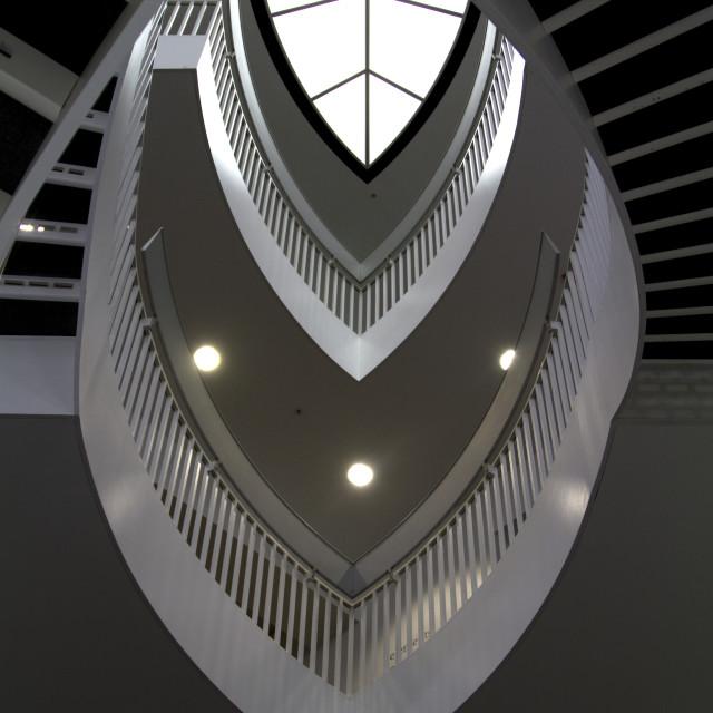 """Chicago Contemporary Art Musem-"" stock image"