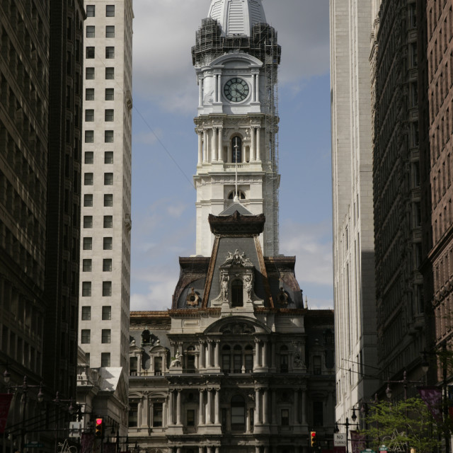 """City Hall, Philadelphia, PA"" stock image"