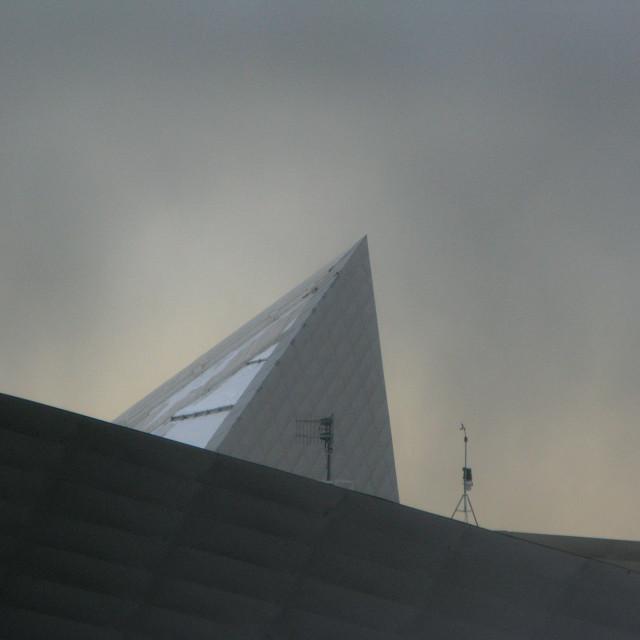 """Denver Art Museum, Denver, CO"" stock image"