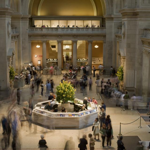 """""""Metropolitan Museum, New York"""" stock image"""