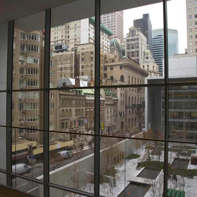 """MOMA Museum, New York"" stock image"