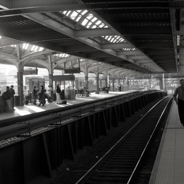 """""""Penn Station, Philadelphia"""" stock image"""