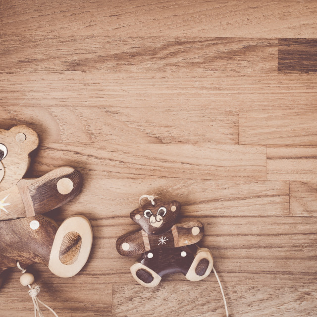 """hand made wood toys"" stock image"