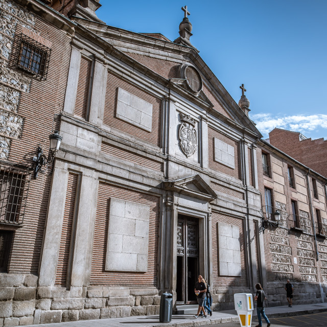 """Convent of Las Descalzas Reales in Madrid"" stock image"