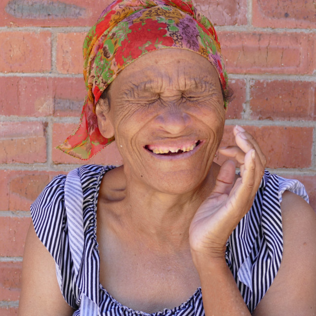 """Elderly Portraits - Huis Pickard"" stock image"