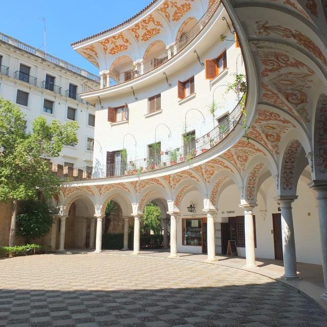 """""""Plaza de Cabildo"""" stock image"""