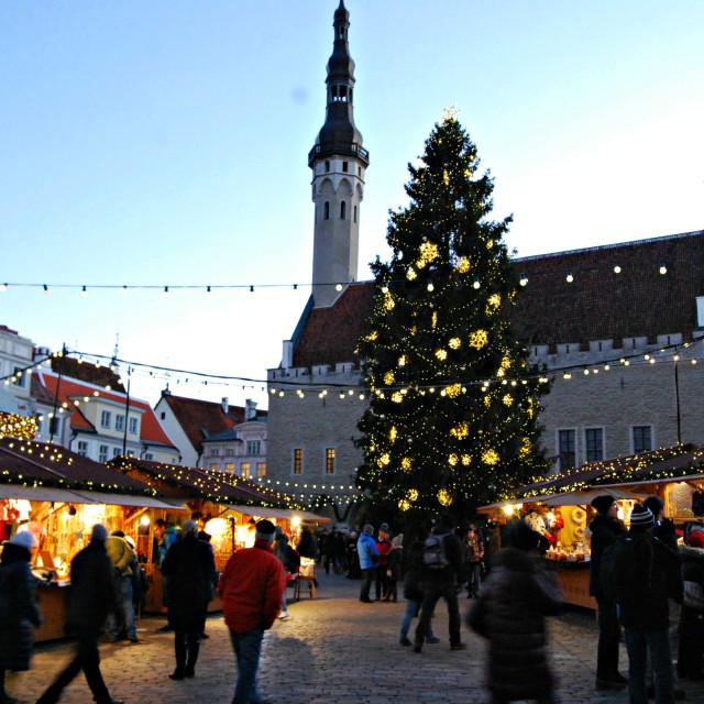 """Tallinn Christmas Markets"" stock image"