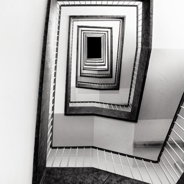 """""""Stairs Tempelhof"""" stock image"""