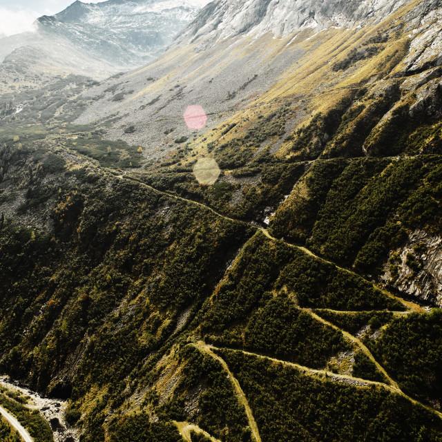 """Alps Carinthia Austria"" stock image"